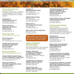Portland State University Continuing Education for Social Workers 2014 Schedule