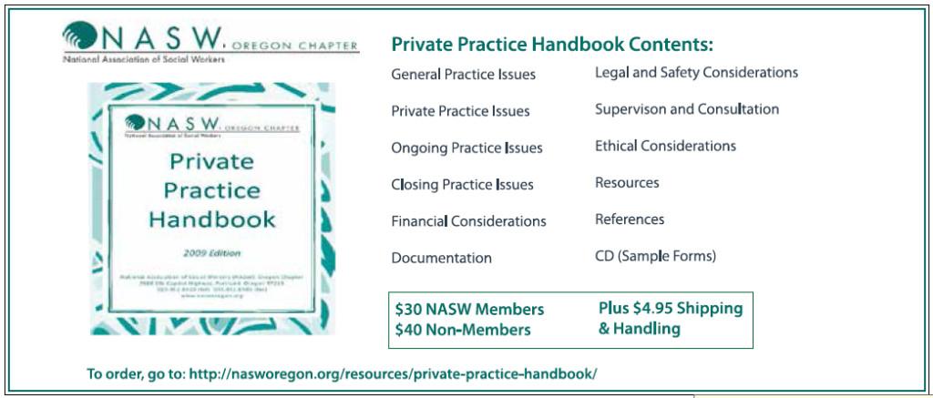 NASW handbook