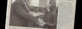 Delmar Stone & Oregon Gov. Kate Brown