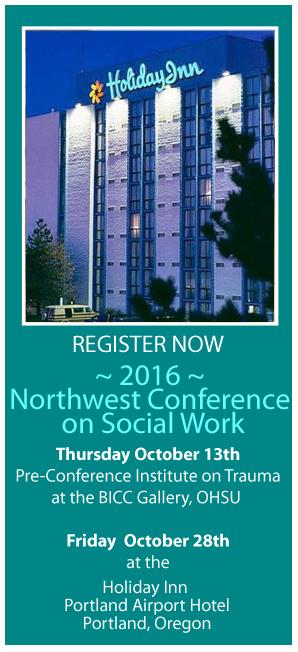 2016 Northwest Conference on Social Work