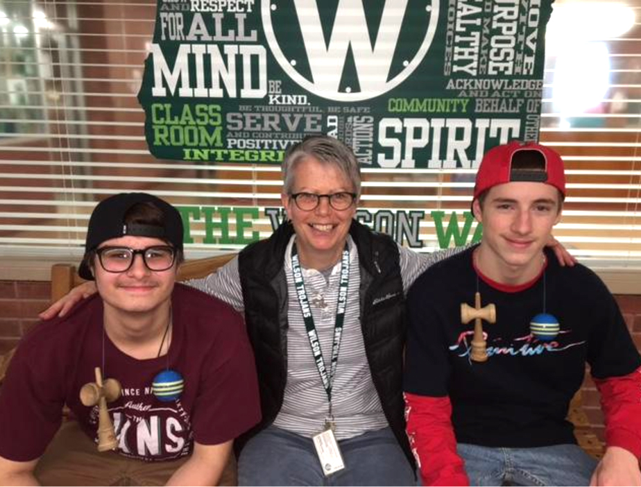 Maureen Brennan teaches Mindfulness at Wilson High School