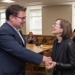 Delmar Stone & Gov. Kate Brown