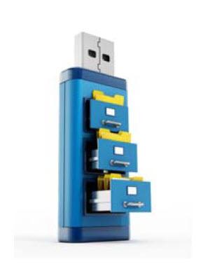 filing cabinet flash drive